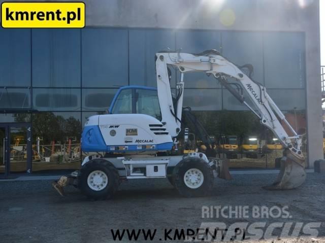 Mecalac 714MW WACKER NEUSON 100 TEREX 42 HML 85 110