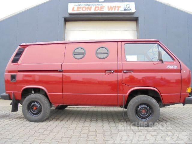 Volkswagen T3 Syncro 1.9 TD 4X4 Nieuwstaat/WIE NEU