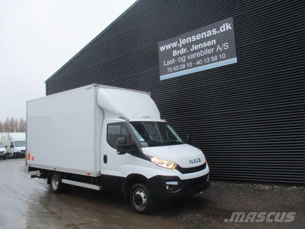 Iveco 50C17 ALUKASSE/LIFT