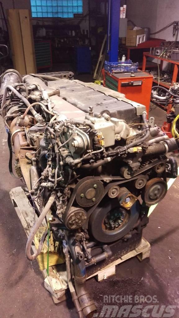 MAN TGX Silnik MAN TGX Euro5 440 D2676LF Biturbo MAN D