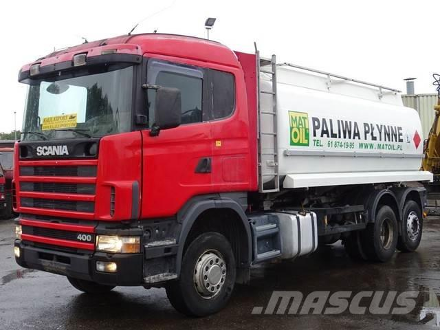 Scania 124 400HP Fuel Tank Truck 21.100L 6x2 Good Conditi