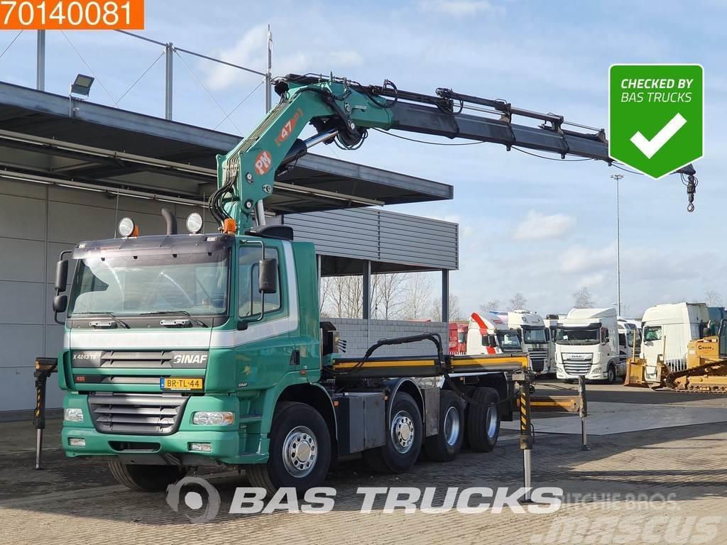 Ginaf X 4243 8X4 NL-Truck WS Crane Kran PM 47 T/M Intard