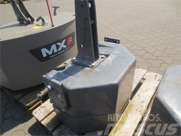 Fendt 870kg Frontgewicht