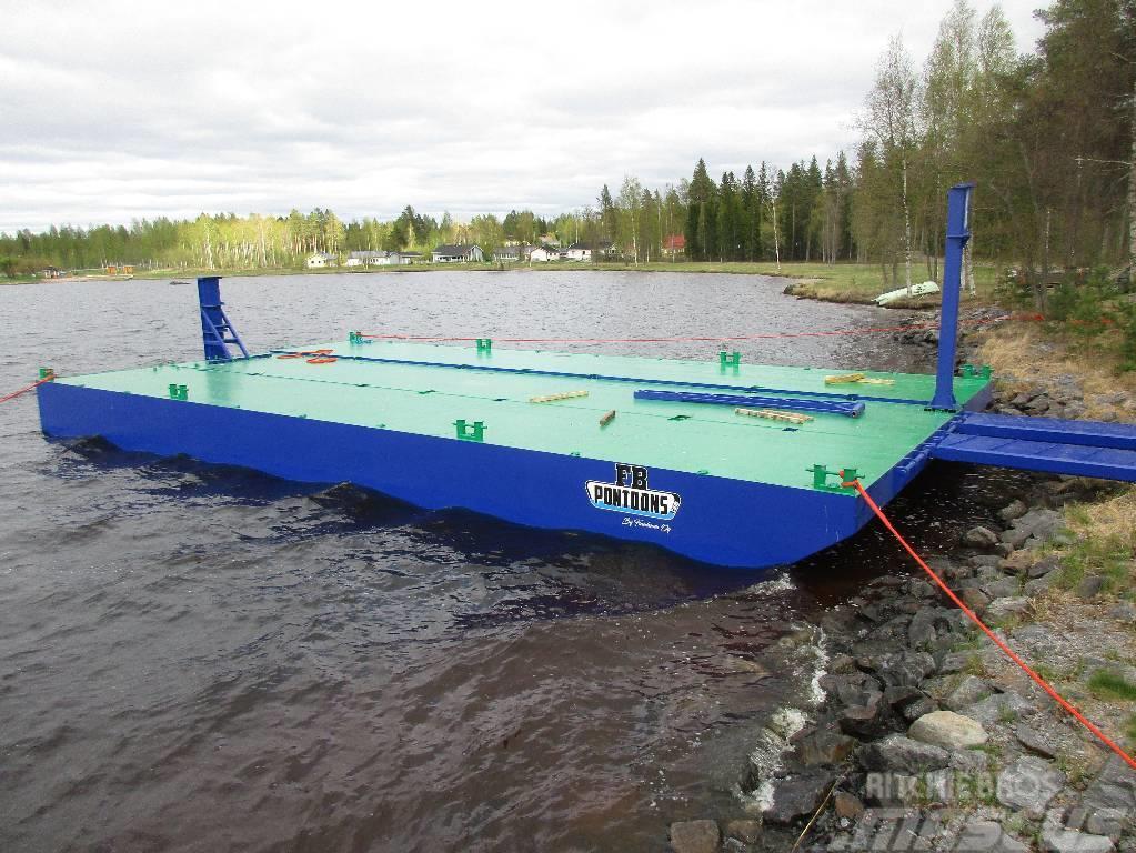 FBPontoons Professional ferries, 2017, Båtar/pråmar