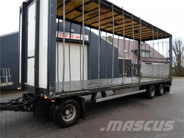 Jumbo 3 axle low loader 8.85 mtr