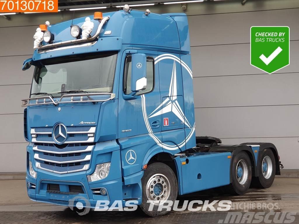 Mercedes-Benz Actros 3363 LS 6X4 Retarder Hub Hydr. ADR Navi E6