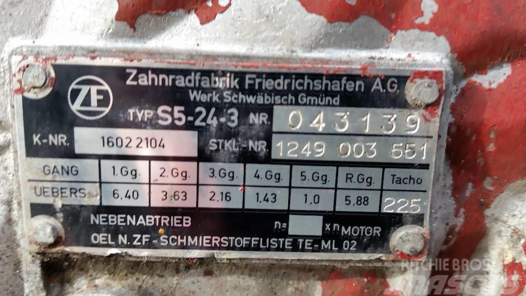 ZF S5-24-3, Växellådor