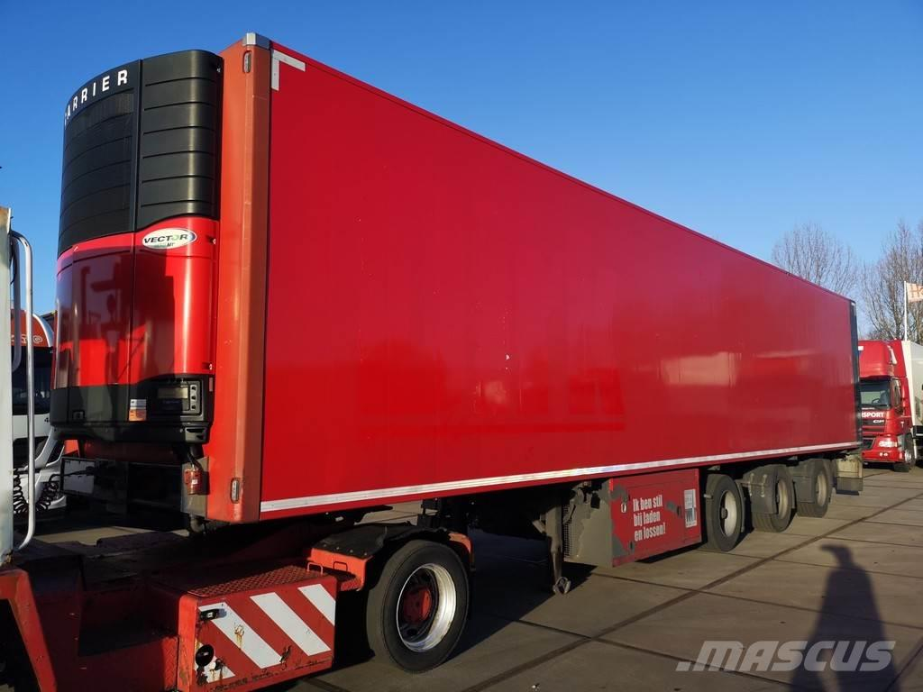 Pacton SYSTEM TRAILER / FRIGO / CARRIER / LIFT / X-STEERI
