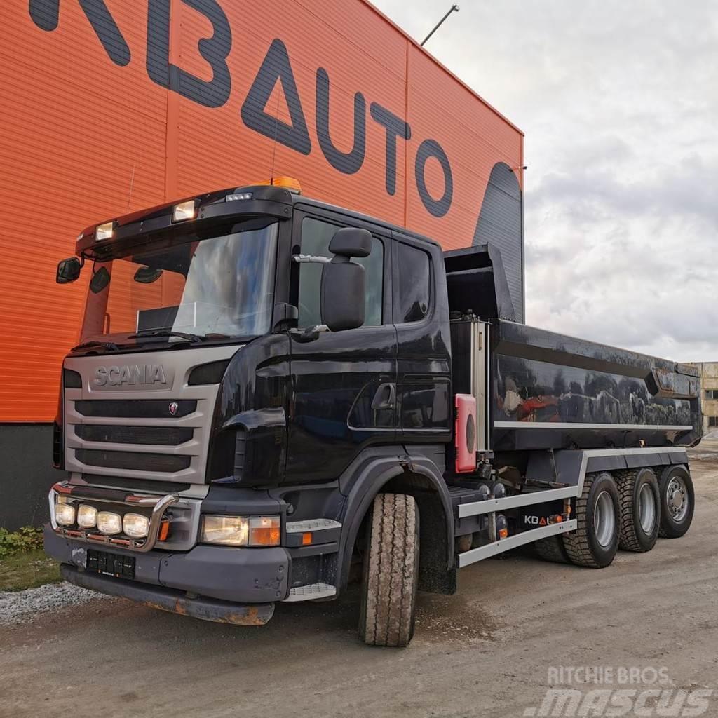 Scania G 480 8x4*4