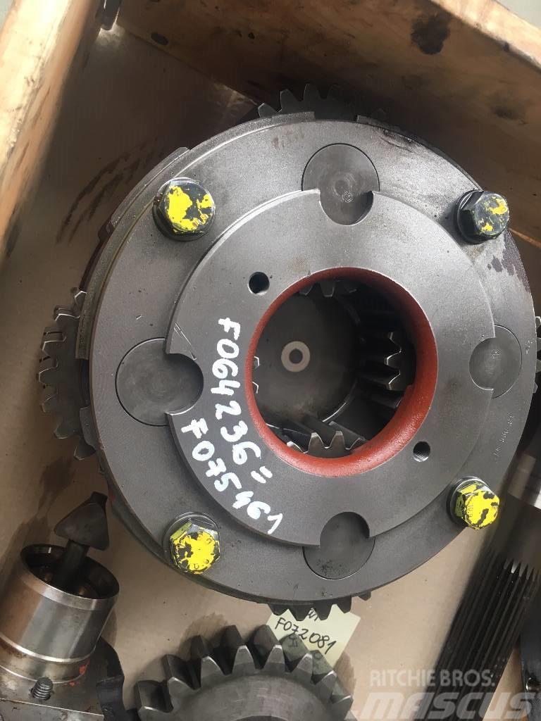 John Deere 1510 E 1210 E 1470 E 1270 E planetary gear