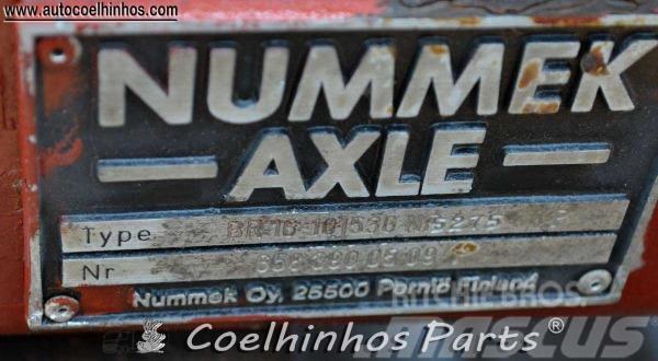 Mercedes-Benz Nummek BR16, 1993, Hjulaxlar