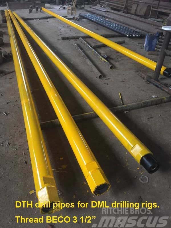 Sollroc DTH drill pipe