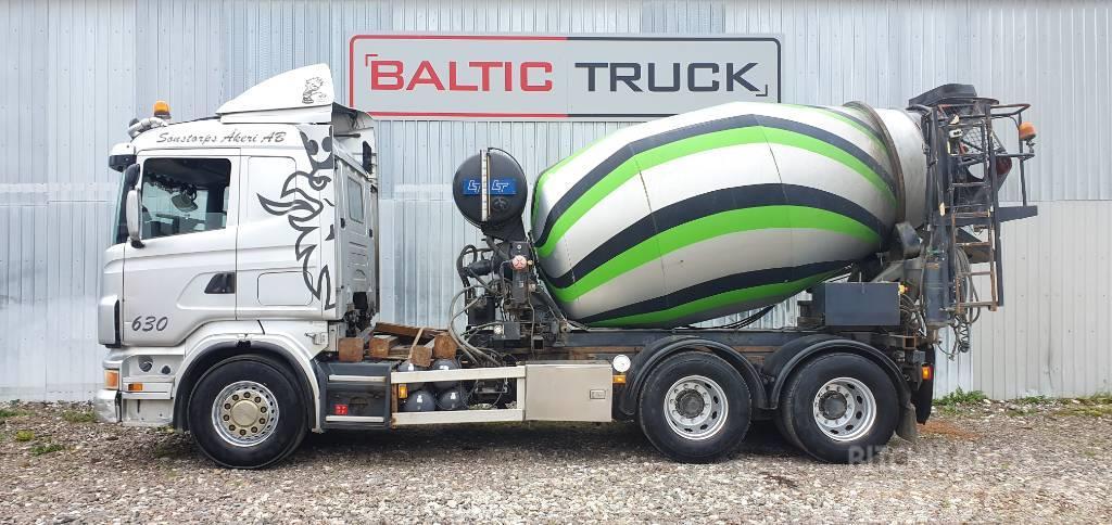 Scania R480 6x4 + 9m HYDRAULIC PIPE + BOX
