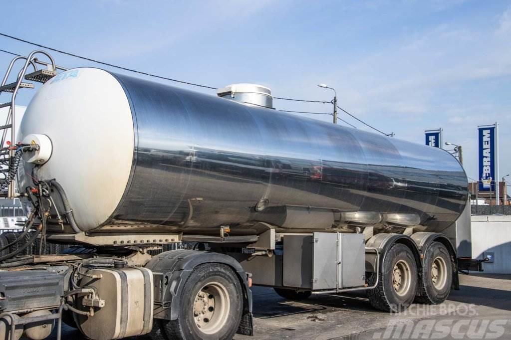 ETA CITERNE LAITIERE /Milch/Milk- INOX - 26.000 L