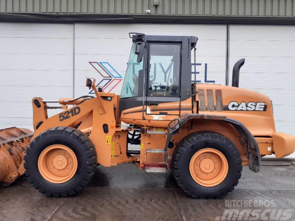 CASE 521 D shovel wiellader hoflader loader 10 ton net!