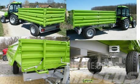 Agro PV 3t pótkocsi Tuber traktorhoz PV 3000 Pótkocsi h
