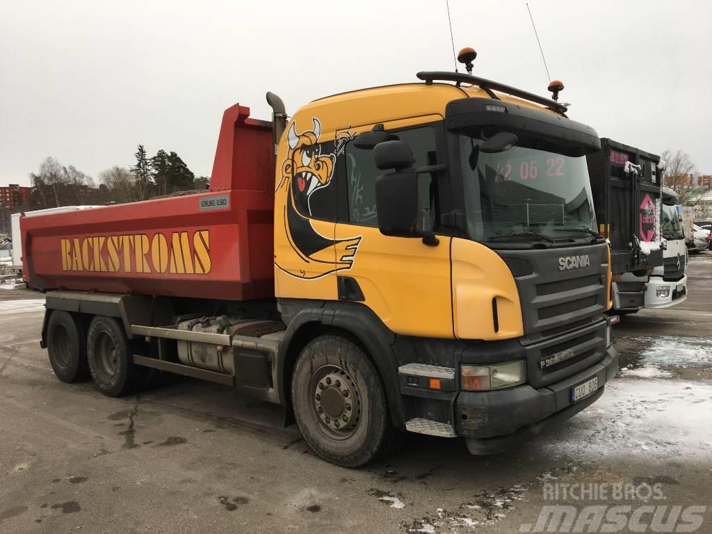 Scania P360L 6X2