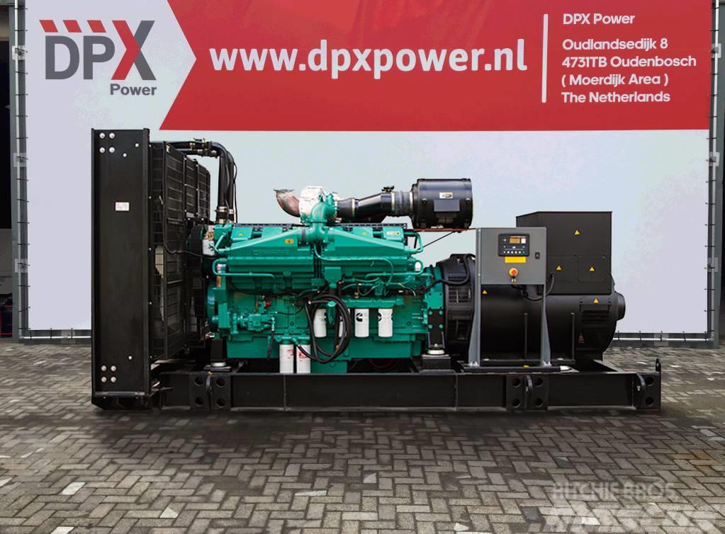 Cummins KTA50G8 - 1.650 kVA Generator - DPX-15523