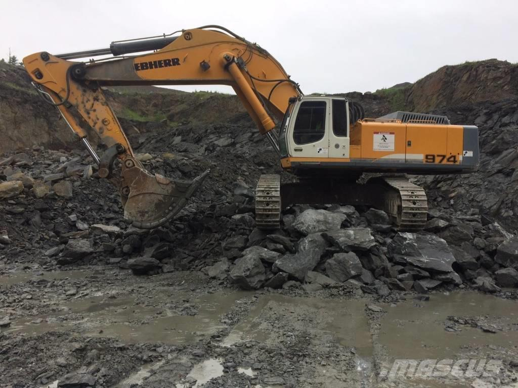 Liebherr R 974 C, 2010, Crawler excavators ...