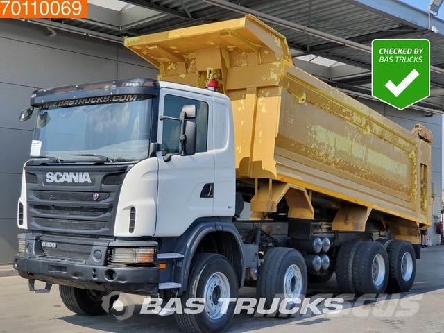Scania G400 8X4 Manual 26m3 Big-Axle Steelsuspension Euro