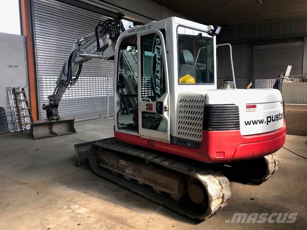 Takeuchi TB175 Verstellausleger, Powertilt, Löffel