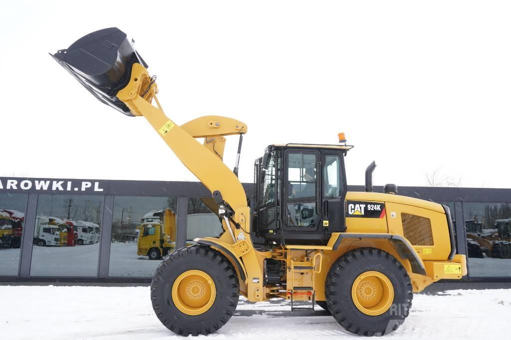 Caterpillar 924 K , 13t , bucket 2,5m3 , quick-coupler