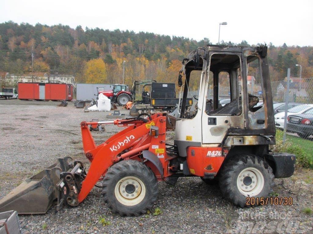 Used Kubota R420 Wheel Loaders Year 2011 For Sale