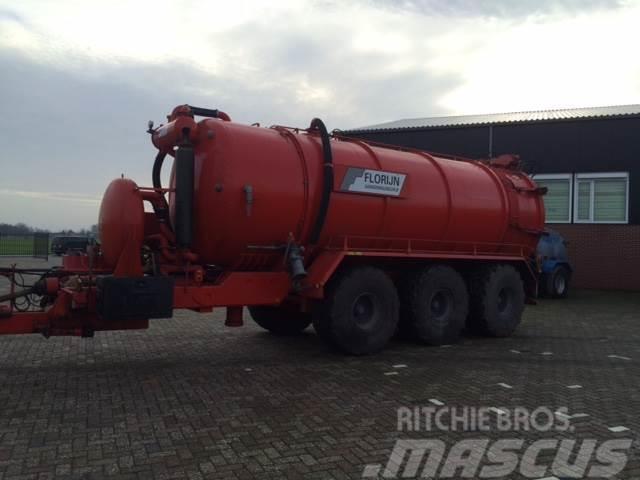 Beco 25m3 vacuumtank