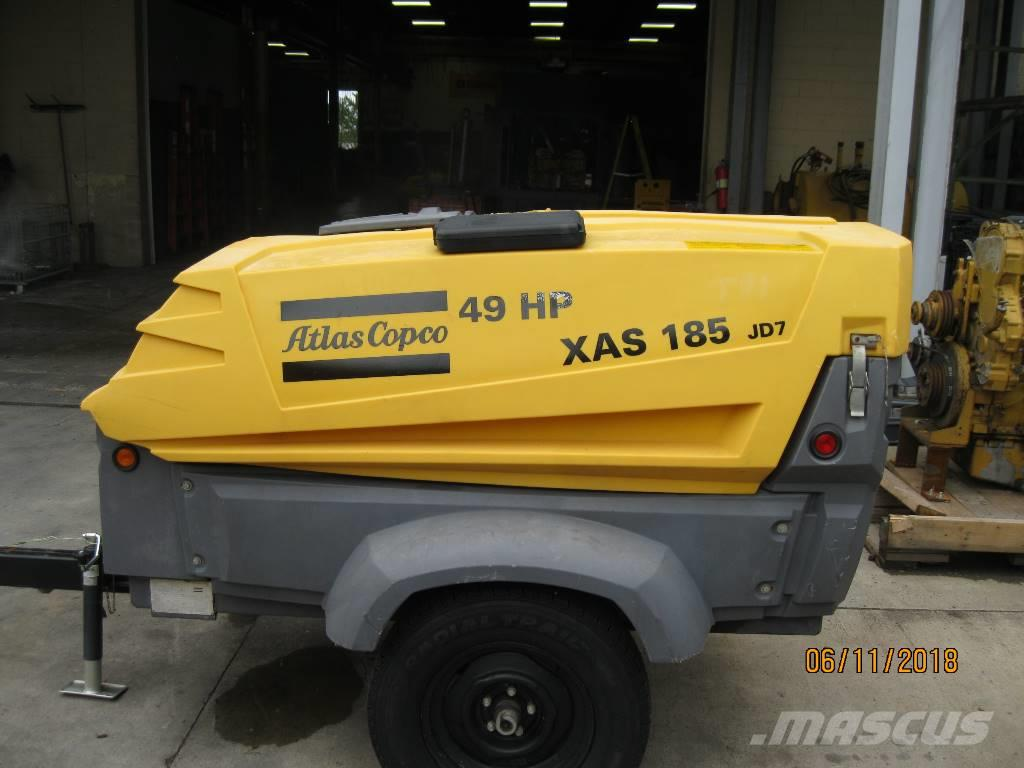 Atlas Copco XAS 185 JD