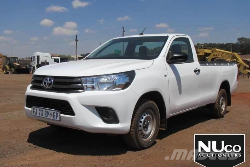 Toyota Hilux Single Cab Ldv 2016