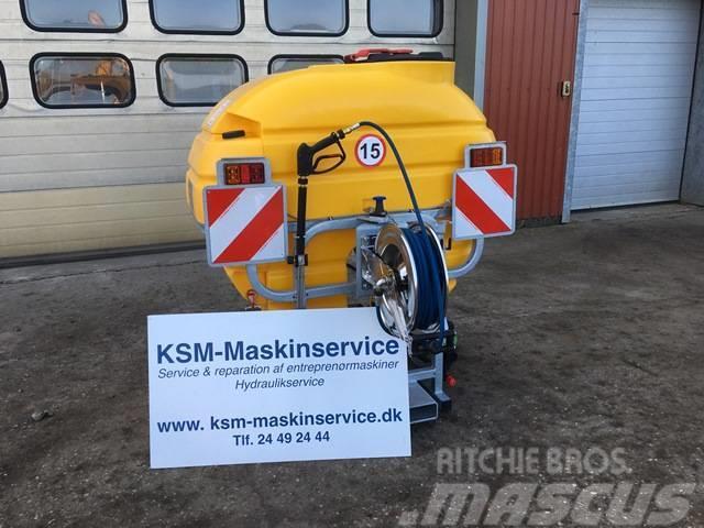 [Other] KSM mobil højtryksrenser 600 L