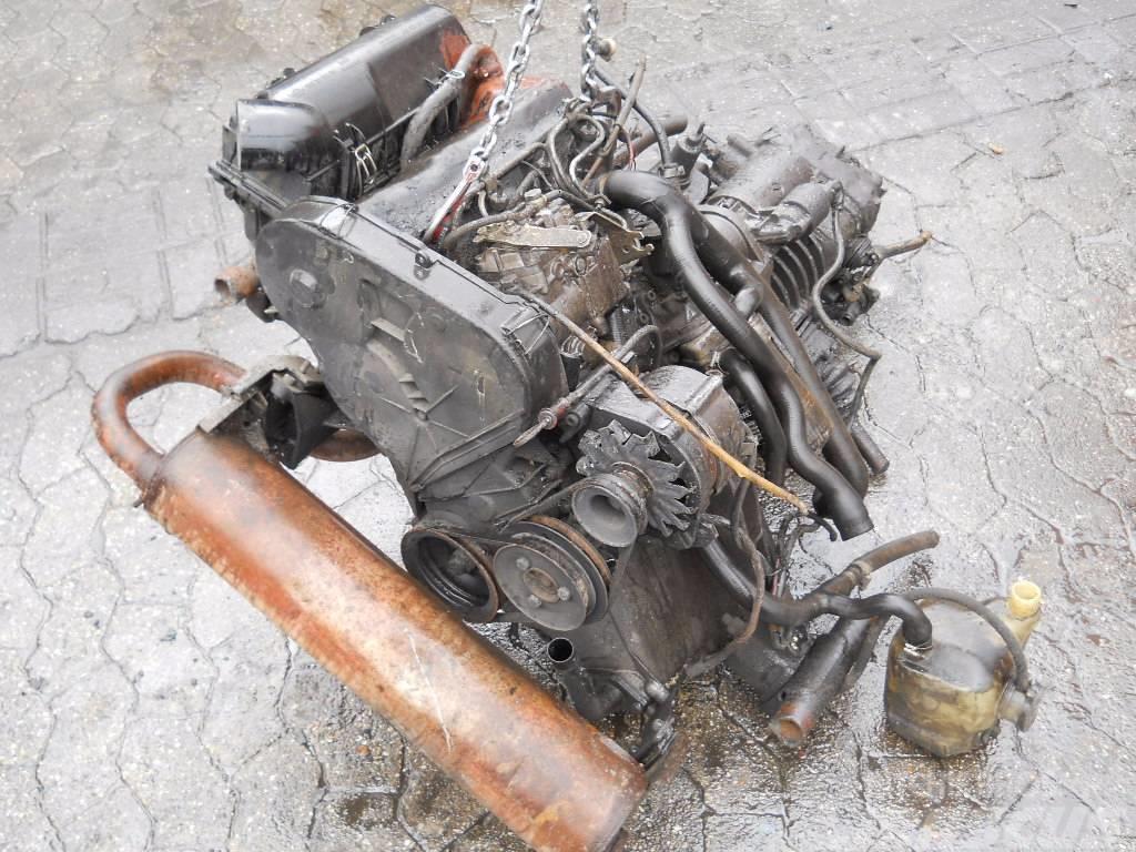 Volkswagen T3 1,6 D, Motorer