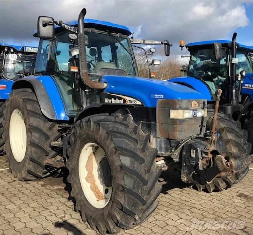 New Holland TM 155  + FZW + FH