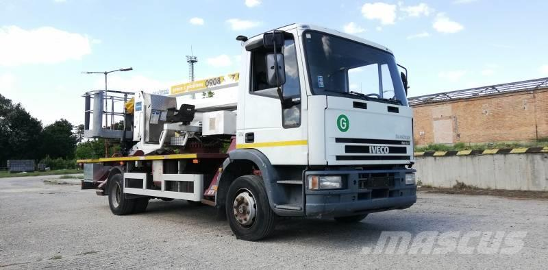Iveco Euro Cargo Oil&Steel Snake 2816 - 28 m - 200 kg
