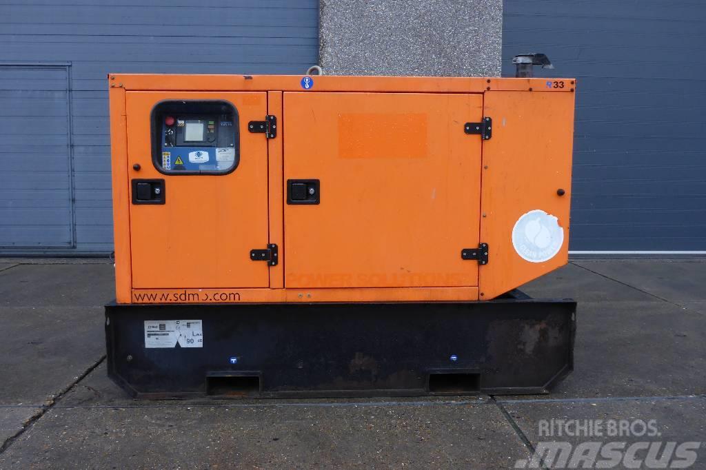 Sdmo R33 MITSUBISHU 33KVA   SNS1112