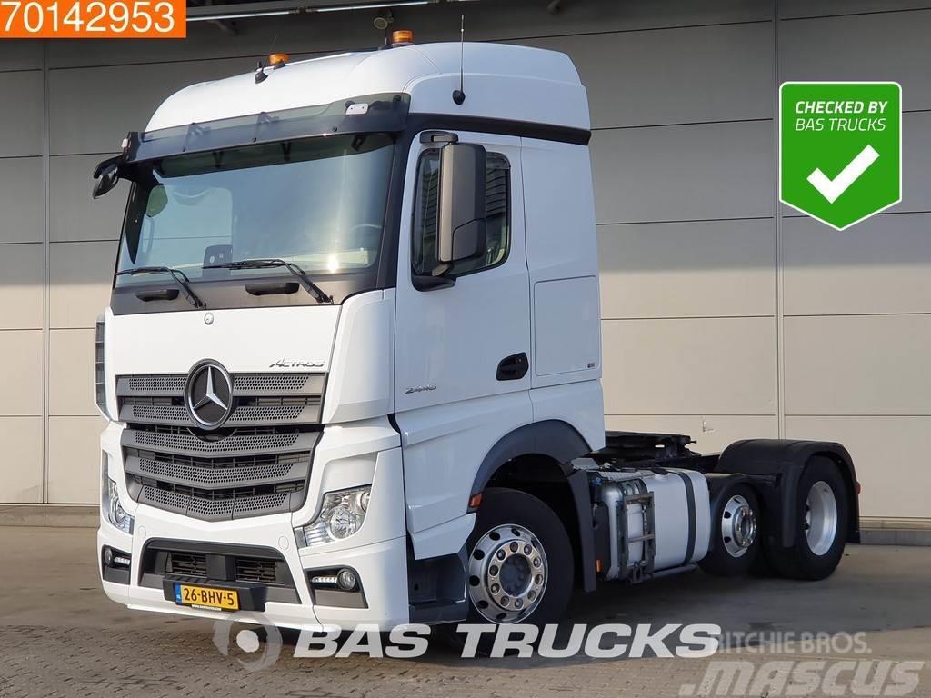 Mercedes-Benz Actros 2446 6X2 NL-Truck 2x Tanks Liftachse Alcoa'
