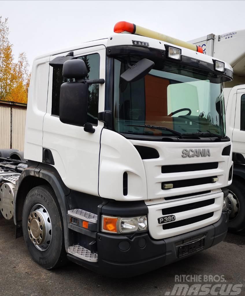 Scania P 380 6x2*4 20 ton koukkulaite