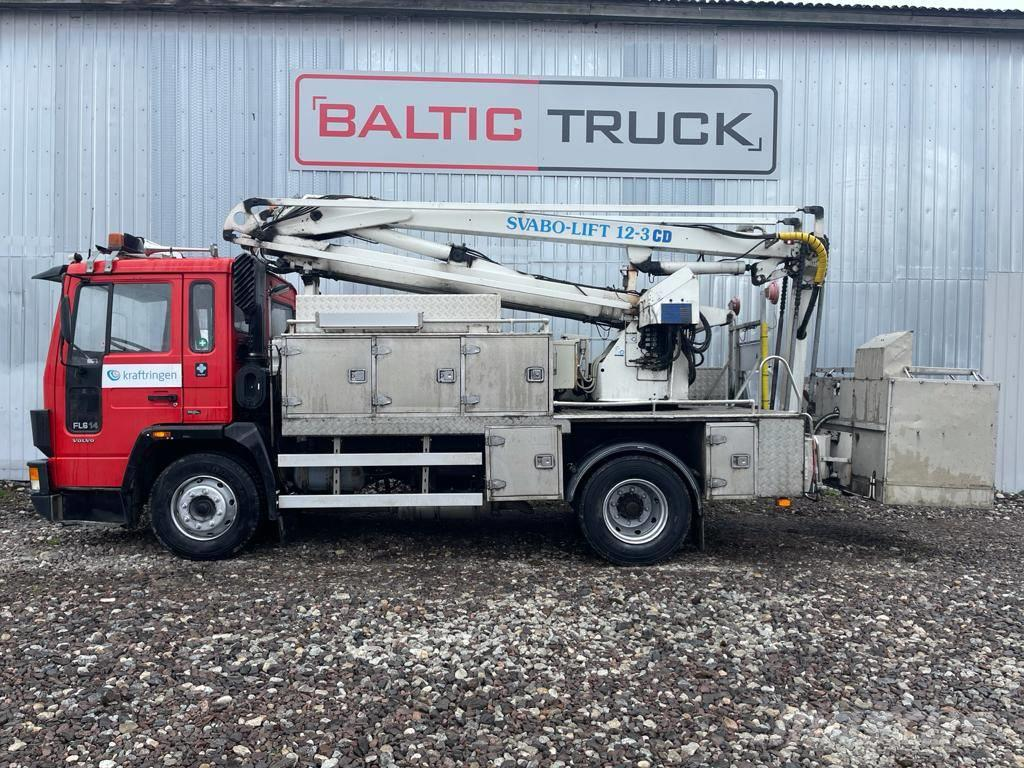 Volvo FL6 14, 12m BASKET LIFT