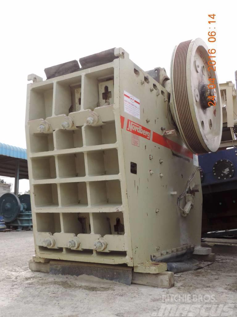 Used Metso Jaw Crusher Metso Nordberg VB13-11 crushers Year