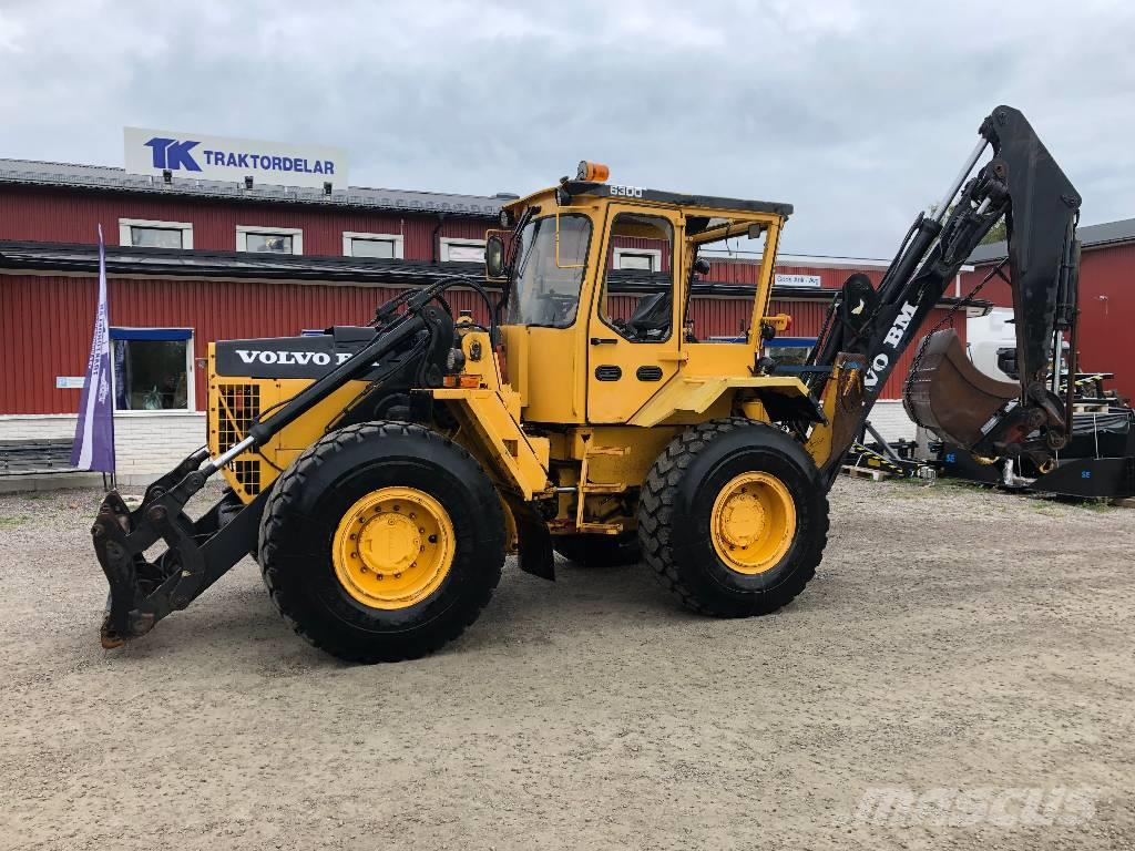 Volvo BM 6300 Dismantled: Only spare parts