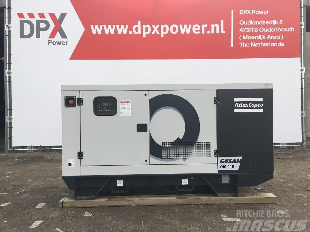 Atlas Copco QIS 110 - 110 kVA Generator - DPX-19407