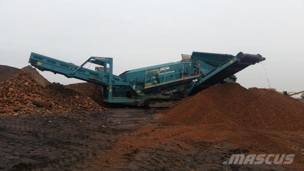 PowerScreen WARRIOR 1800 2-DECK TRACK