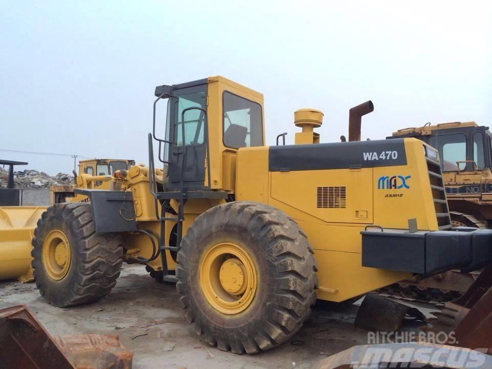 Komatsu Used WA 470 wheel loader