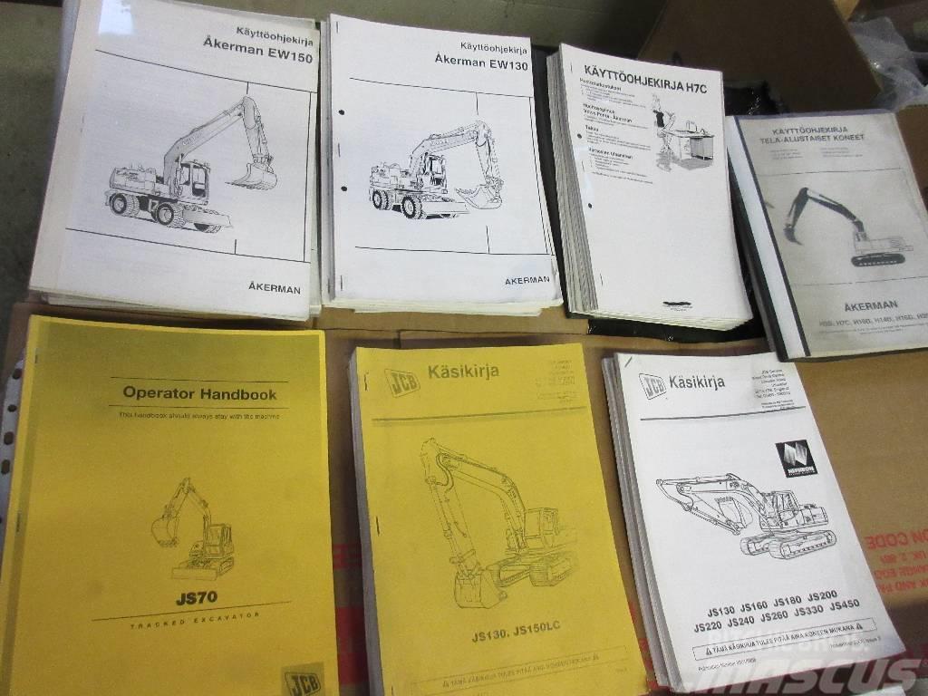 [Other] Kaivinkoneiden Ohjekirjoja moniin malleihin