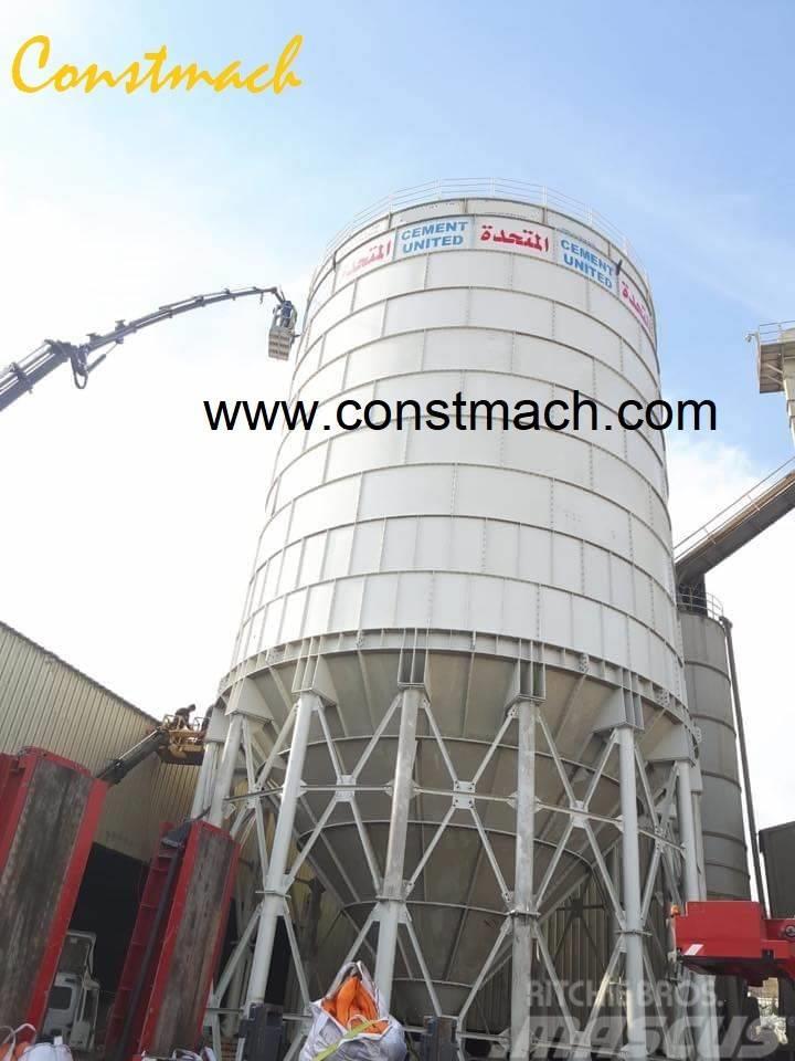 Constmach 3000 Tonnes Capacity Cement Silo Concrete Batching