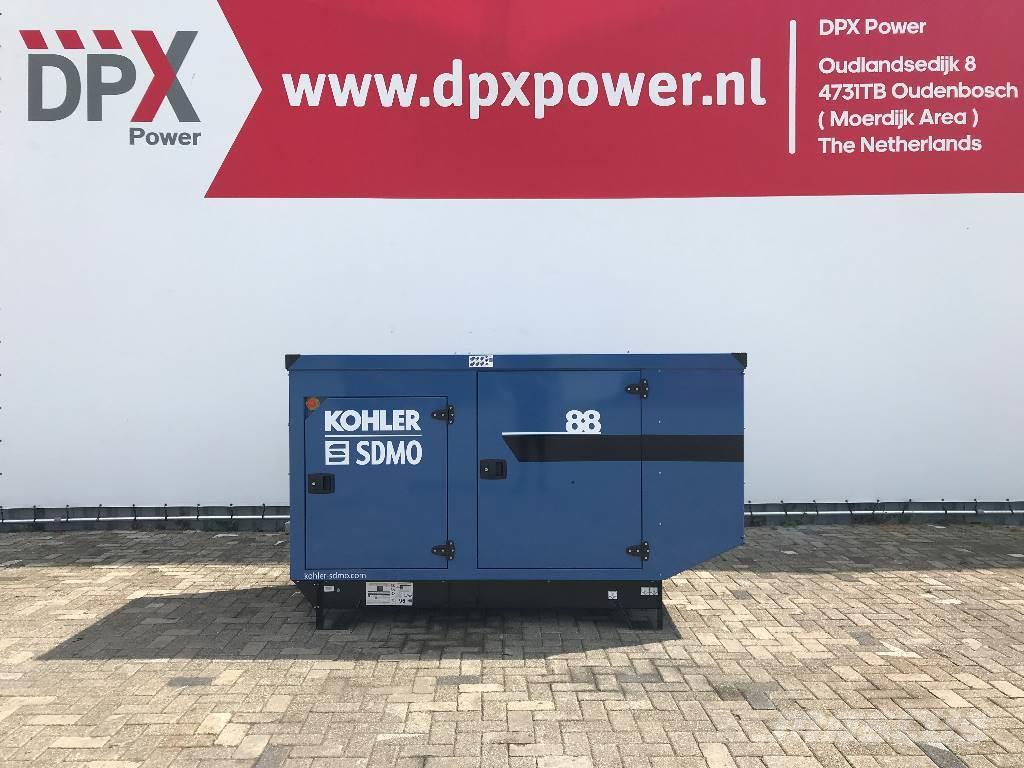 Sdmo J88 - 88 kVA Generator - DPX-17105
