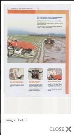 大同 Walking Type Rice Transplanter DP480, 2013, Sättare och planteringsmaskiner