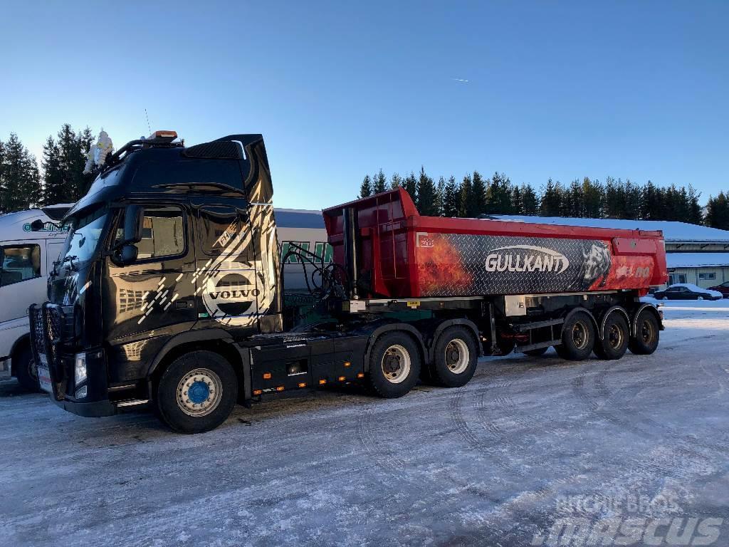 Volvo FH 540 6x4 tippsemi sett, selges for kunde