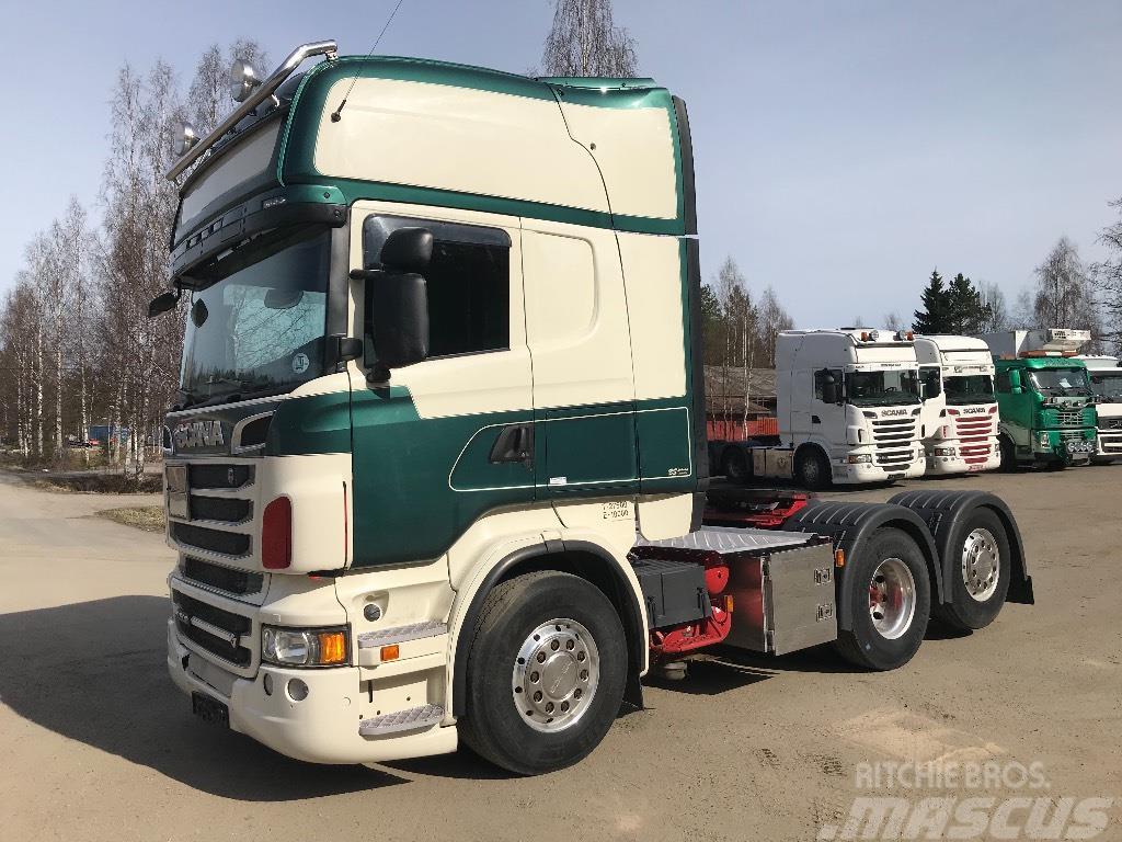 Scania R 500 6X2 Topline ADR