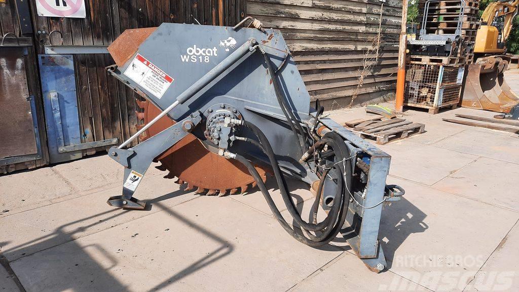 Bobcat WS18 / wheel saw
